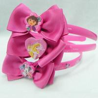 Fashion Cute Princess headwear hair accessories Fairy/Cat/Pig  Bow hairbands Hair jewelry Children kids girl baby gift PAH-3036