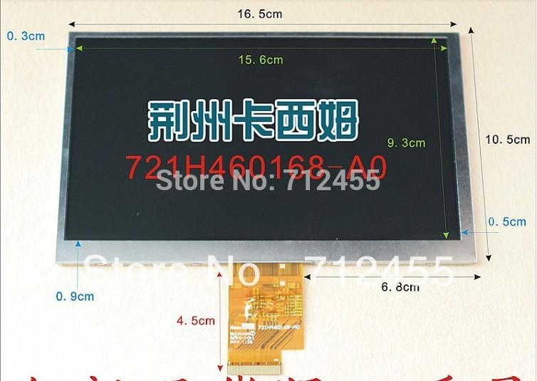 "Original LCD screen for 7"" Freelander PD10 3G MTK6575 MTK6577 PD20 3G TV tablet pc(China (Mainland))"