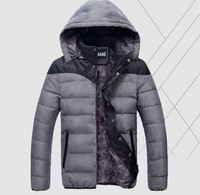 Winter New men's winter jacket Men's Warm Cotton down Jacket Coat