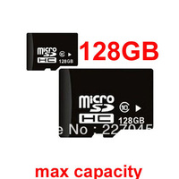 50pcs/lot 128gb maximum capacity micro sd card (real 8gb) Class 10,8gb up to 32gb/64gb/128gb micro sdhc card DHL freeshipping