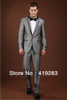Men's brand Suits tuxedo Wedding Suit male formal men dress suit Slim fit (jacket+pants) size S-4XL