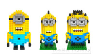 Nano Block Building Blocks Sets Mini Blocks Toys Despicable Me 2 Minion Series
