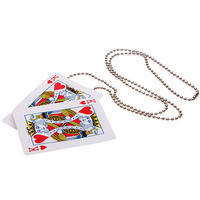 Hot Unbelievable Magic Tricks with Card and Chain LUH063