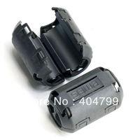 10pcs, 13mm Clip-on RFI EMI Cable Filter Ferrite Core,2738