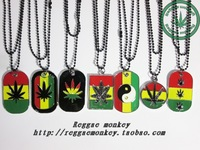 Rasta reggae hiphop punk necklace
