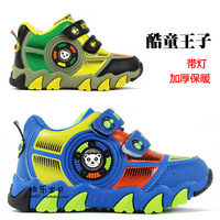 Winter thermal 2013 child sport shoes male child sports cotton-padded shoes thickening casual shoes skateboarding shoes