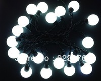 20PCS Modeling  String lights super White Big ball lights AC220/110V