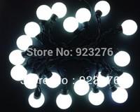 20PCS Modeling  String lights super White Big ball lights AC220/110V