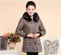 Winter New Arrival women's winter jacket Women's Stand Collar Zipper Warm Cotton down Jacket Sports Coat M-XXXL 3 Colors