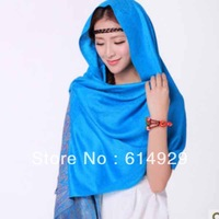 2013 Hot Autumn and winter Bohemia national ms shawl scarf shawl - willow kidneys Women pashmina  scarf