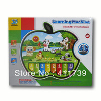 2013 Hot sale 1PCS/LOT Plastic 4D kid's learning piano
