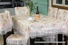 wholesale pink cotton tablecloth