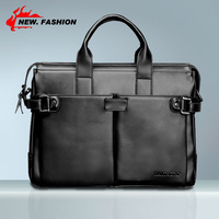 Free Shipping HIgh Quality Vintage Genuine Leather FEIMA Men Briefcase Portfolios Office Bags Business Bag Messenger Bag 1857