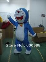 Doraemon cat cartoon Mascot Costume Fancy Dress adult one size suit