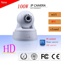 GOSEA  HD Wireless IP Camera Wifi 720P MegaPixel with Pan/Tilt SD Card Slot and IR Cut 720p(1280x720)