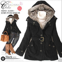 2013 New J186 2013 Hot Women Thicken Fleece Warm Coat Lady Outerwear Fur Jacket Fashion Outwear Winter Free Shipping