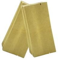 Free shipping 500 PCS / lot  Universal empty vacuum bags aluminum foil & Kraft paper tea packaging bag