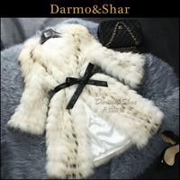 Fur raccoon fur medium-long 2013 fur coat women raccoon fur coat women