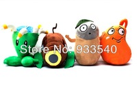 Newest Plant Vs Zombies 2 Plush Toys Dolls,4pcs Newest Plant /pack