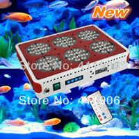 Auto Remote Dimmable 200W Apollo Led Aquarium Light 3W Lens Modual Design Sunrise Sunset Plant Fish Aqua Lighting