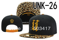 New style Unkut Elephant snapback hat cheetah print brim sports cap hip hop snapbacks