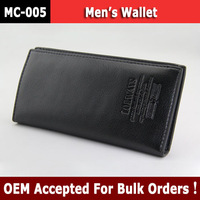2013 best selling branded high quality Genuine Cow Leather Wallet Credit Card Holder Purse for Men