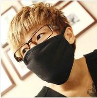 Fashion black thick warm dust masks