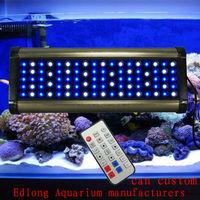 Free Shipping 2013 New phantom 250W Dimmable Led Aquarium Light,programmable led tank light