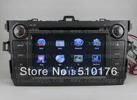 Toyota DVD With GPS / In-Dash Car DVD Player GPS Radio For  Toyota Corolla 2006-2012  With 3G USB Host