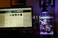Mini Led Coral Reef Aquarium Grow Light 5x3W Bridgelux Small Laptop Tank Bulb E27 Free shipping