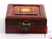 Basons classical bracelet jade agate pendant ring rosewood inlaying sherbin clamshell jewelry box