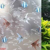 Fish Thickening Transparent Glass Film Window Film Waterproof Window Paper 92cm*5m/lot