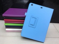 Stand Leather Case For New Ipad Air High Quality 2pcs ship by China post air mail Free Shipping