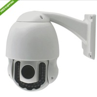 40m Infrared IR Cut 3x Zoom Pan/Tilt PTZ Wireless WiFi 720P HD Outdoor IP Camera DHL free shipping