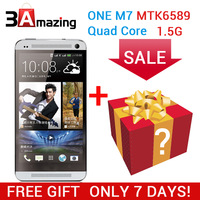 HDC One M7 phone 1:1 MTK6589 Quad core phone Android 4.2.2 Real  1.5GB Ram 16GB Rom 13MP 4.7 inch 1280*720