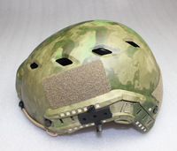 FAST BASE JUMP MILITARY  Paintball BJ HELMET With Picatinny Wing-loc ARC Rail Adapter NVG Mount Camouflage MULTICAM,ATAC