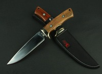2Pcs/lot 2014New Sharp Jungle Survival Fixed Bowie Hunting Knife