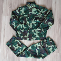 2013 hot sell Outdoor camouflage 07 17 casual work wear field service training suit Camouflage set