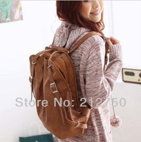 Free shipping new designed fashion students school bag double purpose backpack