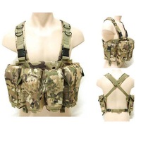 AK tactical vest large capacity magazine Rig carrier combat vest  black SAND GREEN muticam ACU WOODLAND