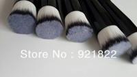 2013NEW ARRIVAL! free shipping New 168 Duo Fiber Stippling flat  Brush Full size Foundation Blush skin care  makekup