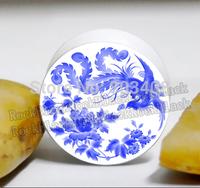 The Phoenix bird white acrylic screw ear  plug  tunnel jewelry mixing  sizes body jewelry UY015