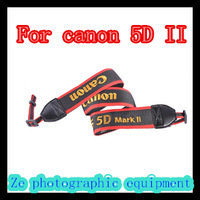 For canon 5DII SLR camera strap plush Gold Embroidered straps