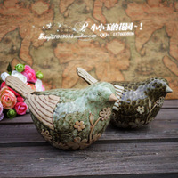 Gustless home accessories ceramic birds fashion wedding gift crafts