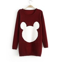 Free shipping 2013 new arrived european and Ameiican style women's fashion knitting sweater,2 colors free size hot sale 6167
