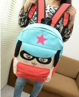 High Quality   NB180 2013 New Cartoon Primary and Middle school   Backpack  Girls Cute Canvas Bag    Factory Price