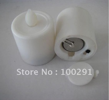 Button cell operated LED Candle light use in the bar, Christmas or party