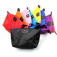 Women Waterproof Zipper Cosmetic Makeup Bag Handbag Purse Pouch Pen Pencil Case Free Shipping