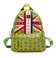 M backpack olympic limited edition rivet m word flag backpack school bag backpack