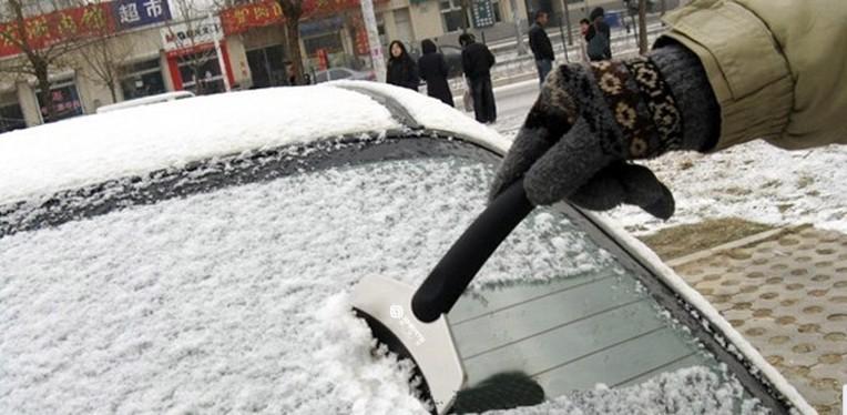 Полезными снег очищение инструмент льда скребок для автомобиль